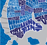 Bronx Neighborhood Type Map