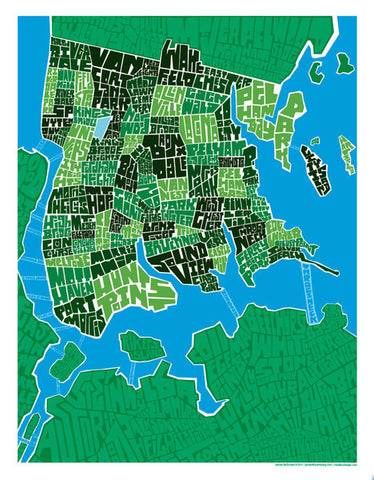 bronx neighborhood type map i lost my dog
