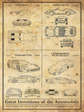 Car Inventions-Patent Art