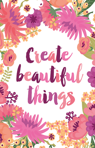 Create Beautiful Things Illustration