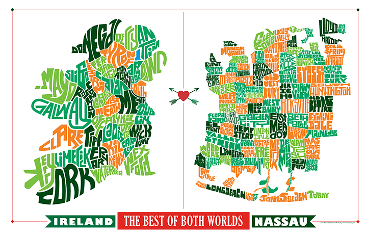 Best of Both Worlds: Ireland & Nassau County Long Island