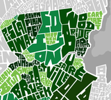 Sussex County Neighborhood Type Map