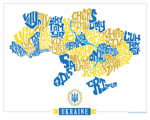 Ukraine Oblasts Type Map  I Lost My Dog