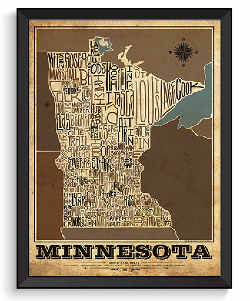 Minnesota State Type Map