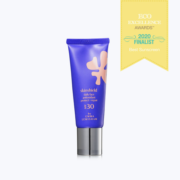Skin Shield Daily Face with award