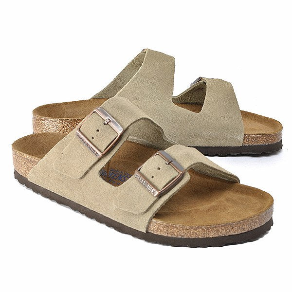 Birkenstock Arizona, Men's & Women's Suede /Taupe