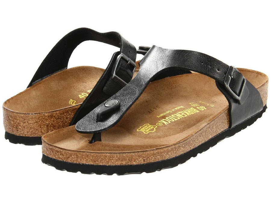 Birkenstock Gizeh,  Women's Birko-Flor /Graceful Licorice