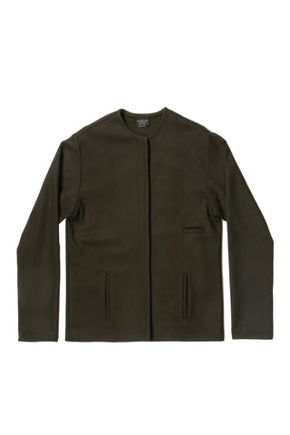 Loden Wool Three Pocket Short Pilgrim Jacket