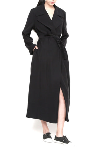 Smart Gab Long Trench Coat