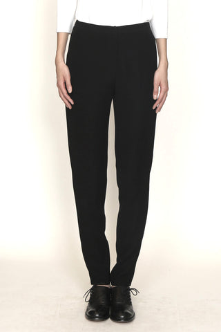 Smart Gabardine Slim Fit Tapered Leg Untux Pant