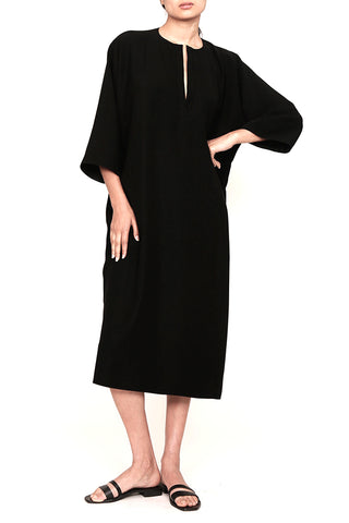 Smart Gabardine One-Size-Fits-All Caftan Dress
