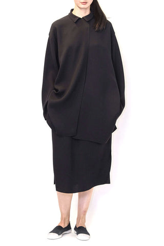 Silk Georgette Oversize Shirt