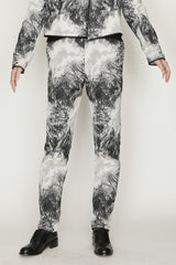 Nite Sky Jacquard Pedal Pusher Pants