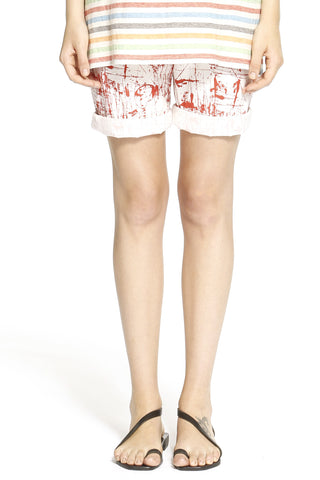 Splash Print Bermuda Shorts