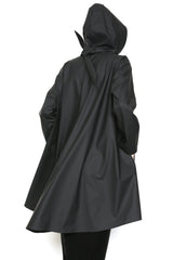 Sweep with Scarf Rain Jacket in Waterproof fabric