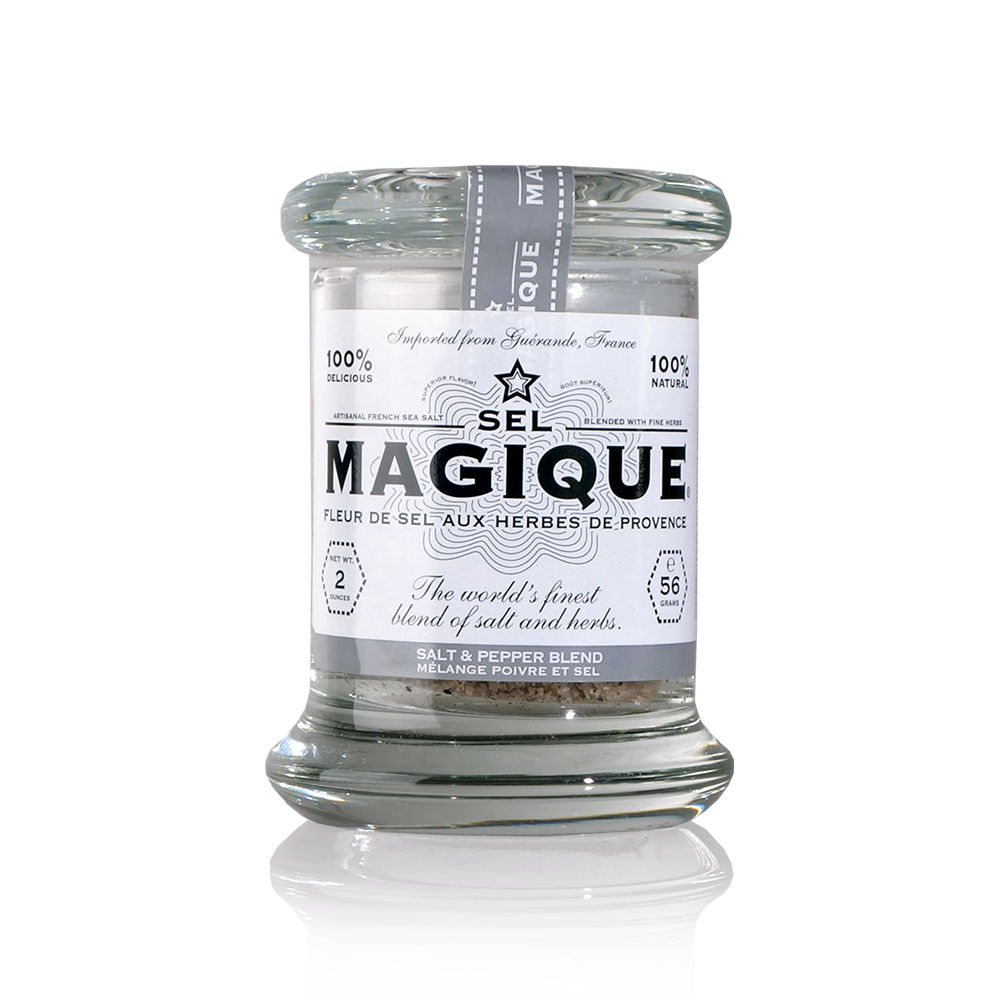 SEL MAGIQUE Salt & Pepper Blend Fine Gourmet Salt