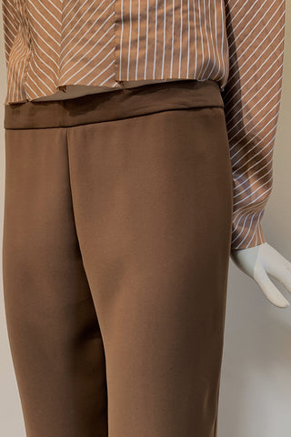 Mod Pants with Back Zipper in Smart Gab Microfiber