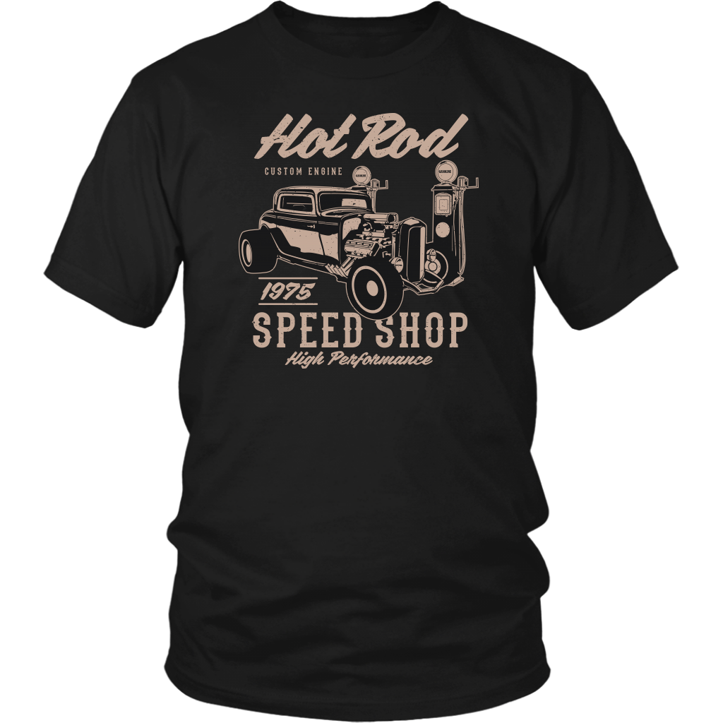 8771a1699 Hot Rod Speed Shop T-Shirt – Offline Cotton