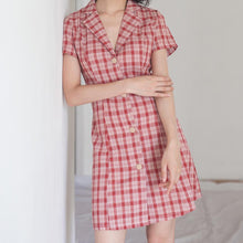 Load image into Gallery viewer, Tartan Mini Dress