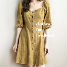 Load image into Gallery viewer, Olive Linen Dress