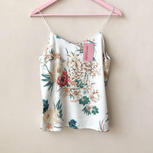 Load image into Gallery viewer, Printed Satin Cami Top