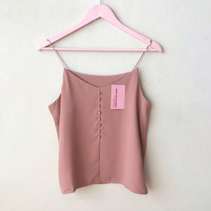Luna Button Front Cami