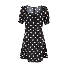 Load image into Gallery viewer, Polka Puff Dress