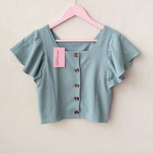 Taffy Linen Top