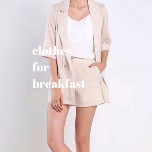 Casual Blazer Set