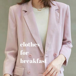 Tailored Blazer Set