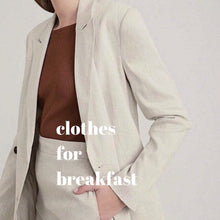Load image into Gallery viewer, Oat Linen Pantsuit