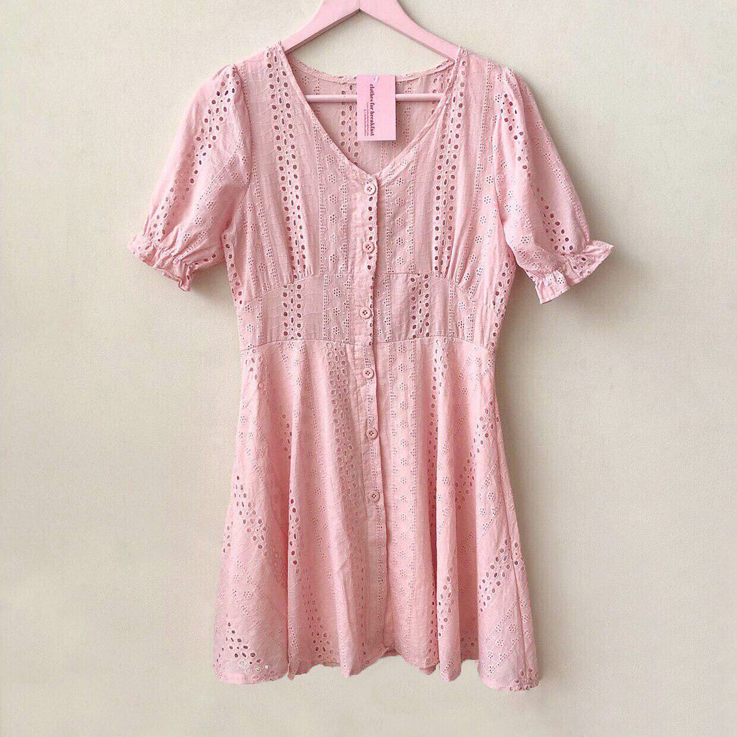 Meadow Eyelet Dress