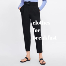Load image into Gallery viewer, Belted Highwaist Trousers