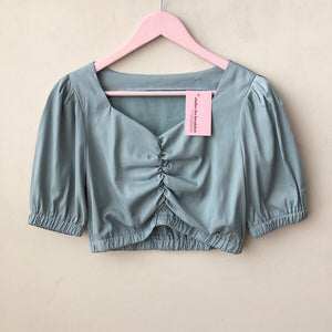 Silk Puff Top