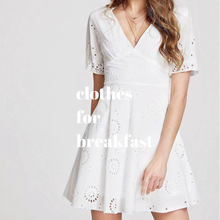 Load image into Gallery viewer, Dandelion Eyelet Dress