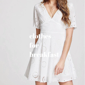 Dandelion Eyelet Dress
