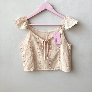 Esther Eyelet Top