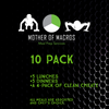 10 Meal Variety Pack (+ 4 Clean Cheatz Donuts) - Mother of Macros