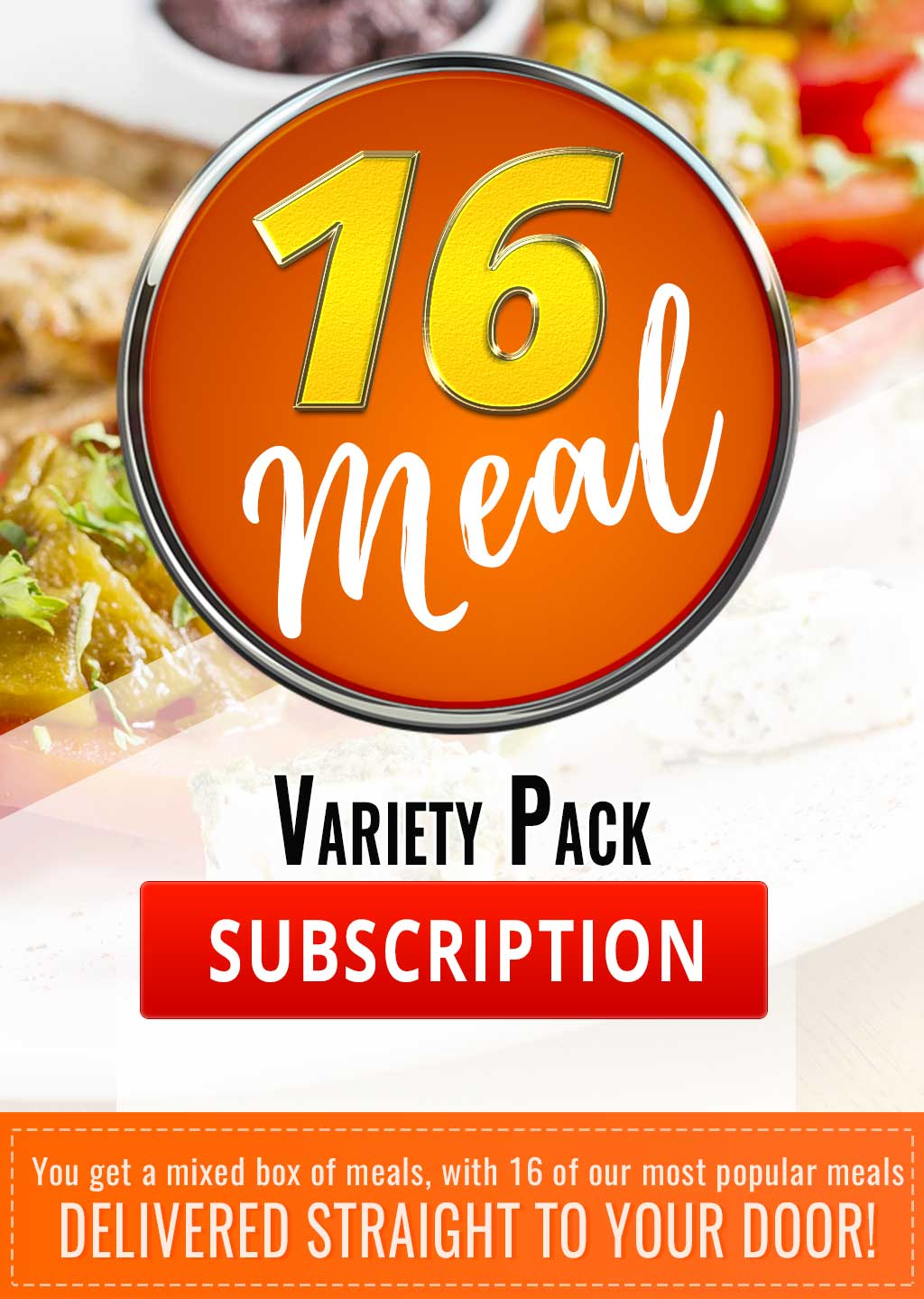 16 Meal Variety Pack Subscription - Mother of Macros
