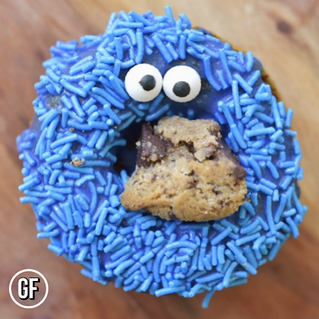 4 Pack Cookie Monster Clean Cheatz Donuts - Mother of Macros
