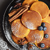 Bulk Breakfast: Maple Cinnamon Pancakes