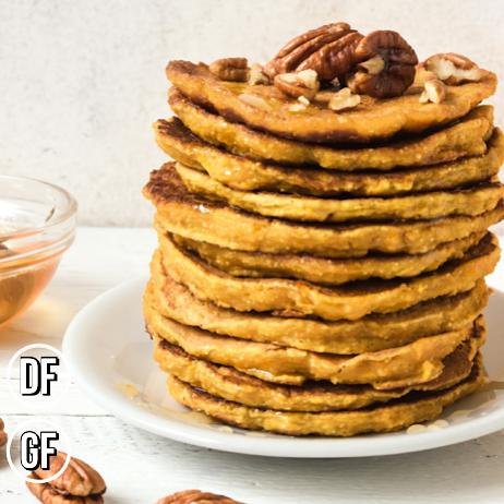 Signature Brown Sugar Maple Pecan Pancakes