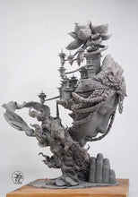 Load image into Gallery viewer, Yuan Xing Liang Winter Tibet - Grey Resin Kit (Deposit Only)