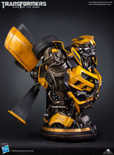 Load image into Gallery viewer, Queen Studios Human Size DOTM Transformer Bumblebee Bust - Regular - Deposit Only