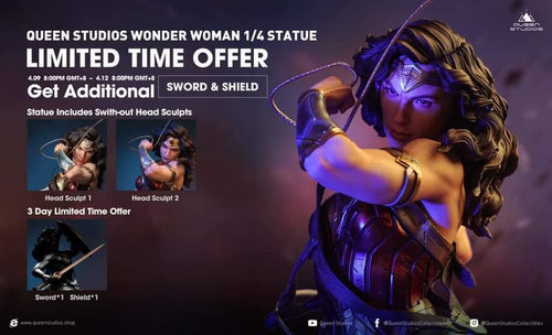 Queen Studios 1/4 Wonder Woman statue