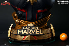 Load image into Gallery viewer, Queen Studios Life Size Captain Marvel Bust