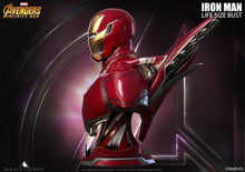 Load image into Gallery viewer, Queen Studios Life Size Iron Man Mark 50 Bust - Clean