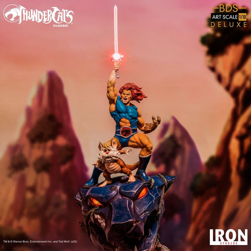 Iron Studios Lion-O & Snarf BDS Art Scale 1/10 - Thundercats