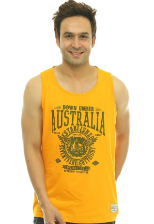 Australia Wings Stripes Unisex Vest