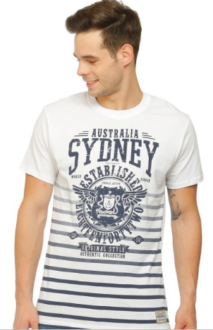 Sydney Wings Stripes Unisex Tshirt